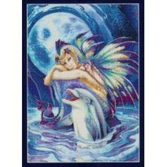 Fantasea the Dolphin Fairy - A Cross Stitch Chart