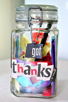 How to make gratitude jar and inspire whole family to be grateful all through the year