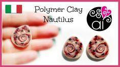 Polymer Clay Tutorial | Murrina Ammonite | Nautilus Cane | Italiano