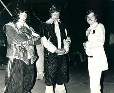 Movie: The Three Musketeers (1973), People: Richard Chamberlain, Ilya Salkind, Frank Finlay, Characters: Aramis, Porthos, O'Reilly