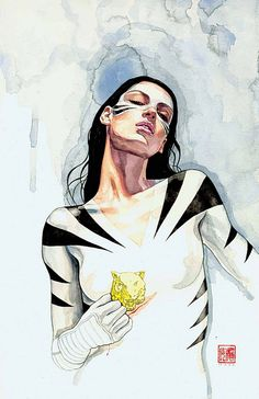 comicartappreciation: White Tiger // David Mack