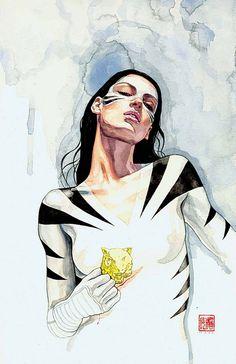 comicartappreciation: White Tiger // David Mack