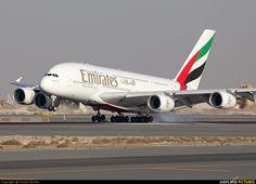 Emirates Airlines - Airbus A380 A6-EDQ, Dubai Int. Airport