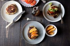 Cornmeal and Chorizo Pancakes, a recipe on Food52