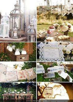 vintage wedding outdoors by Meggo06