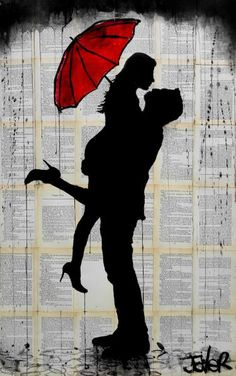 "Saatchi Art Artist Loui Jover; Drawing, ""november rain"" #art"