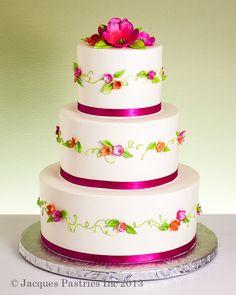 Classic Wedding Cakes - La Petit Fleur Cake
