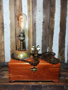 One-of-a-kind Upcycled Repurposed Treasure Chest by UrsMineNours