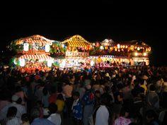 祇園祭(山車の競演)  Gion Festival -Costarring with floats-