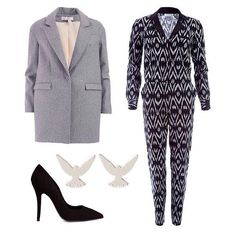 We must admit ... We love our UK Fashion brands and Fashion trendsetters!   This fashionable outfit is comprised of various UK Fashion brands.   This cute Oversized Coat ... The trendy Jumpsuit ... These simple, yet stylish Pumps … Visit www.lenmelekard.com/outfitideas.html for purchasing info.