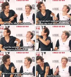 Niall Horan and Harry Styles interview