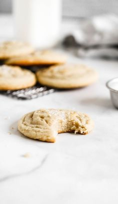Business Cookware Ought To Be Sturdy And Sensible These Are The Best Soft And Chewy Sugar Cookies. They Are Dense, Doughy, And Huge. It's Like Making Bakery-Style Sugar Cookies In Your Own Kitchen. Best Sugar Cookie Recipe, Best Cookie Recipes, Baking Recipes, Dessert Recipes, Desserts, Baking Tips, Baking Ideas, Sweet Recipes, Healthy Recipes