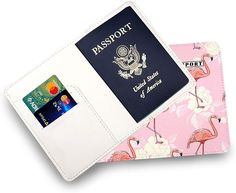 """Buying products in my shop you get a lot of advantages!♫   The image is bright and colorful   High quality of the image   The print is printing in the back and in the front   Easy to snap on and off!    The print will look great for a long time.   ► Size ◄   Passport Holder 4.1""""x5.7"""" (10.5x14.5 cm) #flamingo #pink #flamingos #birds #nature #albertsstuff #roblox #albert #flamingoparty #love #art #pinkflamingo #flamingolove #handmade #summer #bird #flamingosofinstagram #flamingolover #unicorn Passport Wallet, Passport Cover, Travel Accessories For Men, Flamingo Party, Pink Flamingos, Wallets For Women, Leather Craft, How To Introduce Yourself, Leather Wallet"""