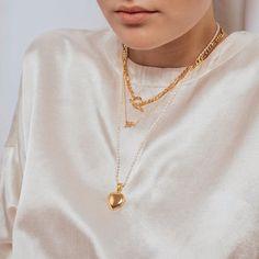 "eve's JEWEL on Instagram: ""PERSONALIZE 🤍✨ #evesjewel #choosehandmade"" Gold Necklace, Pendant Necklace, Eve, Jewels, Handmade, Instagram, Fashion, Moda, Gold Pendant Necklace"