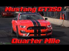 Video: Ford Mustang Shelby GT350 Sets 11.96 Second 1/4 Mile - GTspirit