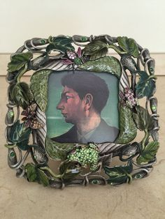 """JAY STRONGWATER Flora & Fauna """"Arden"""" Frame New in Box (495.00 at Neiman Marcus)"""