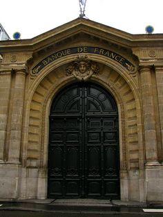 Porte, banque de France, Paris | Flickr: Intercambio de fotos