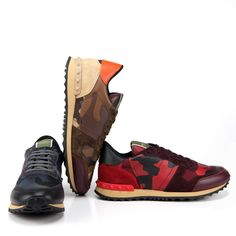 fall obsession: Valentino Garavani camouflage sneakers