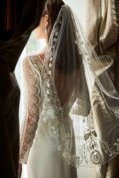 Italian Romance | Ninette Veil from BHLDN