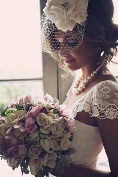 accessories, beauty, floral, bouquet, short, necklace, updo, bold, retro, Spring, romantic
