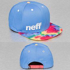 NEFF Snapback Cap blau