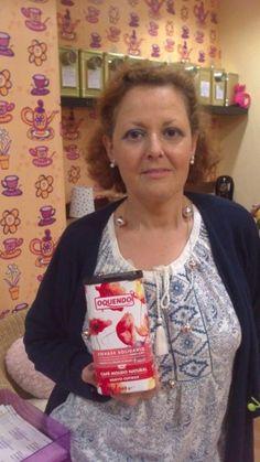 Imagen por Beatriz Herrero Collado<br/>Beatriz en Taza y media. Juntos contra el cáncer de Mama.