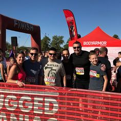 """Proud to have a few """"Rugged Maniacs"""" of our own attend this year's Rugged Maniac Obstacle Race in Phoenix! These folks are unstoppable 🏃🏆 Rugged Maniac, Bataan, Phoenix, Folk, Racing, Adventure, Instagram, Popular, Auto Racing"""