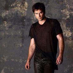 My obsession...haha! I don't Ian has a bad picture.  Ian Somerhalder - The Vampire Diaries Season 5