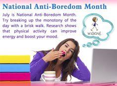 Anti Bored Month