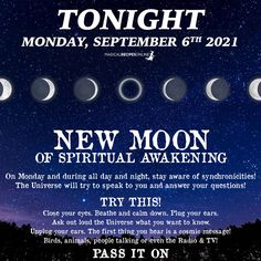 Ask Out, Virgo Moon, Under The Influence, People Talk, Calm Down, Close Your Eyes, New Moon, Out Loud, Spiritual Awakening