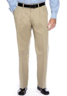 Lee Medium Khaki Big  Tall Custom Comfort Fit Relax Pant