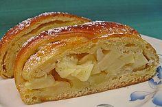 Apfelkuchen aus Hefemürbteig 1