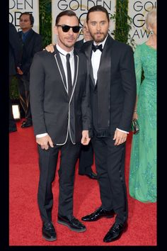 Jared Leto -Globos de Oro 2014
