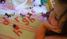 """""""Making Montessori Ours"""": Beginning Letter Sounds With The Montessori Grammar Farm"""