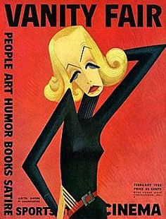 Miguel Covarrubias' caricature of Greta Garbo appeared on the February 1932 cover of Vanity Fair. Saul Bass, Vanity Fair Magazine, Magazine Art, Magazine Covers, Canvas Wall Art, Wall Art Prints, Pop Art, Illustrations, Mexican Art