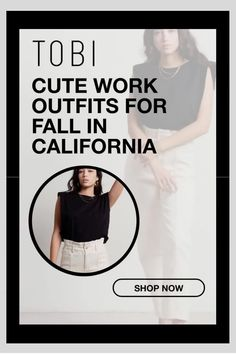 Cute work outfits for fall in California from TOBI. The best place to buy affordable runway inspired outfits online. Shop the latest trends in autumn weather ladies fashion for women, juniors, and teens. #shoptobi #fallfashion #falltrends #falloutfits #californiafashion #womensfashion Autumn Fashion Women Fall Outfits, Ladies Fashion, Fashion 2017, California Fashion, California Style, Hipster Boots, Cute Work Outfits, Club Party Dresses