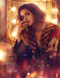 Deepika Padukone looks as glamorous as ever in Vogue's November 2016 issue