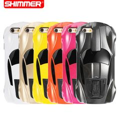 3D Fashion Hard Case Cool Sport Racing Car Design Protective Case Cover For iphone 5 5s SE 6 6s 7 Plus