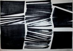 Hans HARTUNG : Lithographie originale : L-18-1974