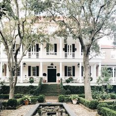 Dream Home Design, My Dream Home, Dream Homes, Decor Scandinavian, Southern Homes, Southern Mansions, Southern Living, Country Homes, House Ideas