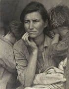 Lesson plans from the Getty Museum in LA using Lange's images. Metaphors in visual and written forms, history of the Dustbowl, Great Depression. Value and challenges of social-documentary photography.