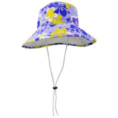 9f64e612 HIBISCUS by TUGA : Sun Protective and Super Vibrant Girl's Reversible Bucket  Hat with Wide Brim in MORADO