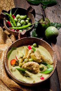 Thai Green Curry - Food Template