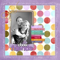 Mint-spirational Monday..err Tuesday – The best digital scrapbook pages of the week!