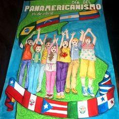 Día del Panamericanismo. 14 de abril. Cartelera escolar. Hermandad entre pueblos. #misdibujos #carteleraescolar #panamericanismo #panamericano #Venezuela #Argentina #Brasil #Bolivia #Colombia #Chile #Ecuador #Uruguay #Paraguay #Guatemala #ElSalvador #CostaRica #Haití #Nicaragua #Honduras #Panamá #EstadosUnidos #México #Perú #Cuba #Canadá #PuertoRico #UnitedStatesofAmerica