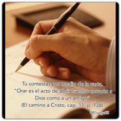Escribir a Dios. #ElSueñodeDiosparaTi #rpsp #MatinaldeAdultos