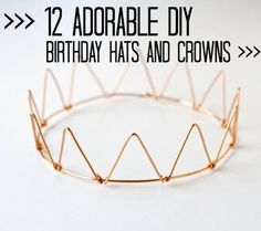 To continue celebrating our 1st birthday week I had to share with you these awesome DIY birthday ideas I've been collecting! There is some seriously easy,
