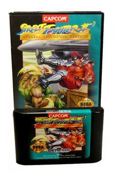 Military Box, Retro Video Games, Street Fighter