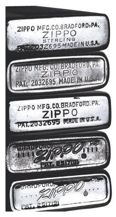 Zippo : Date Codes