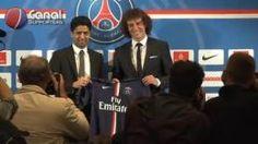 Présentation à la presse de David Luiz (PSG)